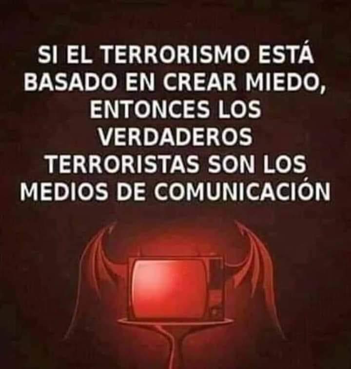 Los medios de comunicación son los más grandes terroristas – El Heraldo  Latino